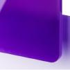 Violet translucide
